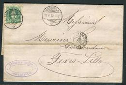 Suisse - Cover / Lettre Avec Texte De Winterthur Pour La France En 1882     Ref F221