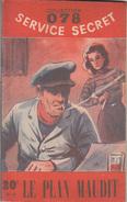 C1  Maurice LIMAT LE PLAN MAUDIT 078 Service Secret 1951 DOMENICA STILL - Antichi (ante 1960)