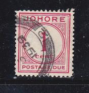 MALACCA Stati Federati Jore 1938 Tasse N°1 - Timbres