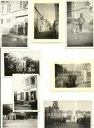 Toucy Les 8 Photos  Sur Un A 4 ( Voir Second Scan Pour Les Détails De Localisation ) + Une Carte Plus Lot De 3 CP - Toucy