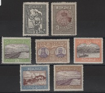 RO 149 - ROUMANIE N° 222/28 Neufs* Rattachement De La Silistrie-Dobroudja - 1881-1918: Charles I