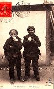 EN SOLOGNE Petits Ramoneurs Mangnifique Cpa Circulée En 1906 Bon état Voir Scans - Non Classés
