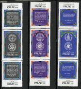 1987 - PALAU -  Catg.. Mi. 197/205 -  NH - (I-SRA3207.34)