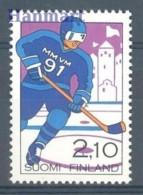 Finland 1991 Mi 1130 MNH -  Hockey  ( ZE3 FNL1130 )