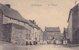 St-Georges  Le Village Super Animé Circulé En 1913