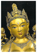 Asie > Mongolie Trésors De MONGOLIE Zanabazar  Cyamatara,La Sauveuse Détail (bronze Déesse,Bouddha Amitabha) - Mongolia