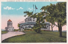 NEW YORK----claremont Hotel And Grant's Tomb Riverside Drive----voir 2 Scans - NY - New York