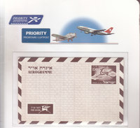 Israel Aerogramme LF12 Mint - Airmail