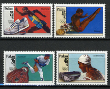1988 - PALAU -  Catg.. Mi. 245/248 -  NH - (I-SRA3207.34) - Palau