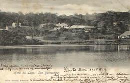 Paraguay, San Bernardino, Hotel Del Lago, Old Postcard 1905 - Paraguay