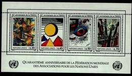 Vereinte Nationen Genf 1986 - UNO ONU - MiNr Block 4 (147-150) - Europe (Other)
