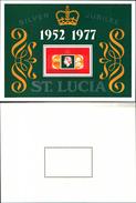 86732) ST. Lucia 1977 Silver GIUBILEE  -MNH - VEDI FOTO - St.Lucia (1979-...)