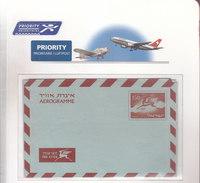 Israel Aerogramme LF16 Mint - Airmail