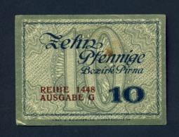 Banconota Germania 10 Zehn Pfennige  31/12/1918 - Germany