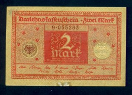 Banconota Germania 2 Mark  1920 - To Identify