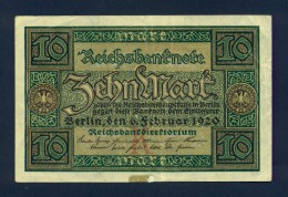 Banconota Germania 10 Mark  1920 SPL - Germany