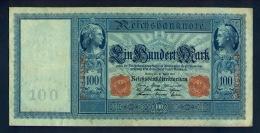 Banconota Germania 100 Mark  21/4/1910  - BB - Germany