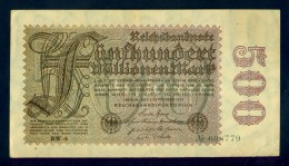 Banconota Germania 500.000.000 Mark - To Identify