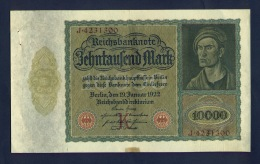Banconota Germania 10.000 Mark - To Identify