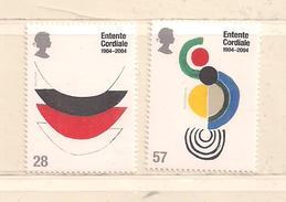 GRANDE BRETAGNE  ( D17 - 9649 )   2004  N° YVERT ET TELLIER    N° 2546/2547   N** - 1952-.... (Elizabeth II)