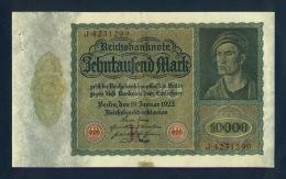 Banconota Germania 10.000 Mark 19/1/1922 - To Identify