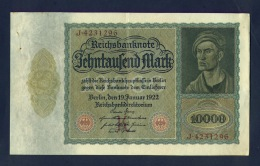 Banconota Germania 10.000 Mark - Allemagne