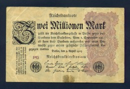 Banconota Germania 2.000.000 Mark 1923 - Germany