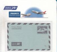 Israel Aerogramme LF20 Mint - Airmail