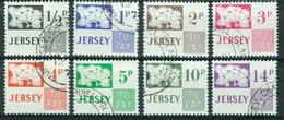 BM Jersey Portomarken 1971 - MiNr 7-14 - Used - Jersey