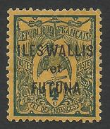 Wallis And Futuna, 4 C. 1920, Sc # 3, MH - Unused Stamps