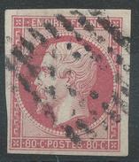Lot N°34711  N°17B, Oblit Losange évidé, Belles Marges - 1853-1860 Napoleon III