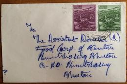 Bhutan 1971, Cover Sent To Phuntsholing In 1979, Monestary - Bhutan