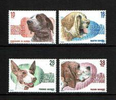 Spain 1983 Sc # 2334 / 2337 MNH **  Dogs - Dogs