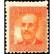 ES740STV-LTV***740STAN.Spain.Esgane .Escritor.Pesonajes Ilustres.FERMIN SALVOECHEA.1936(Ed 740**) - 1931-50 Nuevos & Fijasellos