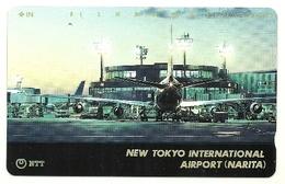 Giappone - Tessera Telefonica Da 105 Units T227 - NTT, - Aerei
