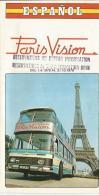 Carnet Touristique De Paris Vision En Espagnol De 1976 - Autres