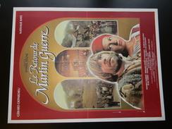 Affichette De Cinema Le Retour De Martin Guerre Avec Gerard Depardieu Et Nathalie Baye 50 X 38 Cm - Manifesti & Poster