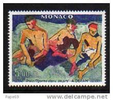 Monaco N° 1244 XX Le Fauvisme 75ème Anniversaire Du Salon D´Automne De 1905 Tableaux : Derain TB