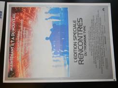Affichette Cinema Rencontres Du Troisieme Type 54 X 40 Cm - Plakate & Poster