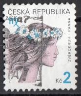 3070 Ceca 2000 Segni Zodiaco Zodiac Vergine Viaggiato Used Republica Ceska - Astrologia