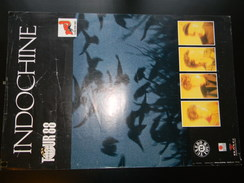 Affichette Indochine Tour 88 59 X 40 Cm - Plakate & Poster