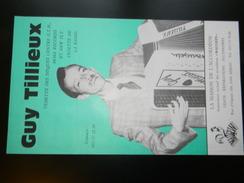 Affichette Guy Tillieux 52 X 31 Cm - Manifesti & Poster