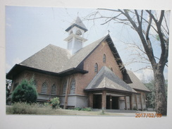 Postcard St Louis Catholic Church Ratanakosin Bangkok Thailand My Ref B1721 - Thailand