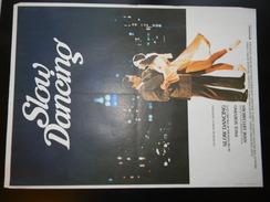 Affichette Cinema Slow Dancing 54 X 40 Cm - Plakate & Poster