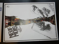 Affichette  Cinema 9 Mois 55 X 41 Cm - Plakate & Poster