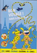 Bon Voyage ! Have A Nice Trip ! Avec Le Marsupilami Et Ses Amis. - Marsupilami