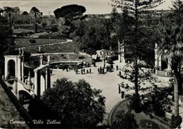 CATANIA    VILLA   BELLINI         (VIAGGIATA) - Catania