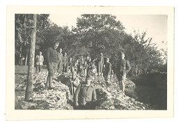 Photo Amateur, Militaires, Soldats & Tranchée, Bazoilles 1941, 2e Guerre, WW2 - Guerre, Militaire