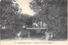 51 - MONTMIRAIL. Piccarïo Ou Le Pont Du Diable. (animée) - Montmirail