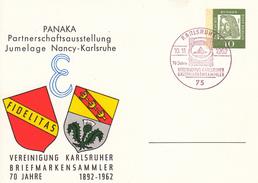 BPP 30/9 PANAKA Partnerschaftsausstellung Jumelage Nancy-Karlsruhe - Vereinigung Karlsruher Briefmarkensammler 70 Jahre - [5] Berlin
